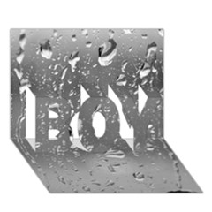 WATER DROPS 4 BOY 3D Greeting Card (7x5)
