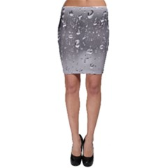 Water Drops 4 Bodycon Skirts