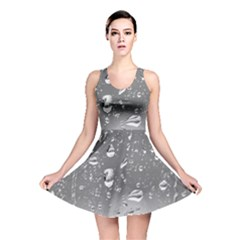 WATER DROPS 4 Reversible Skater Dresses