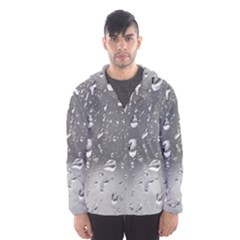 WATER DROPS 4 Hooded Wind Breaker (Men)
