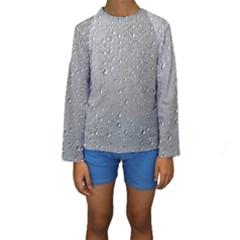Water Drops 3 Kid s Long Sleeve Swimwear