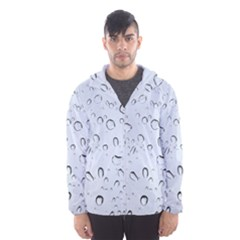 WATER DROPS 2 Hooded Wind Breaker (Men)