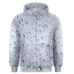 WATER DROPS 2 Men s Zipper Hoodies