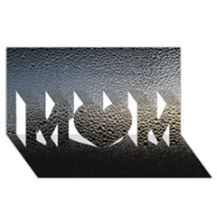 WATER DROPS 1 MOM 3D Greeting Card (8x4)