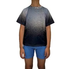 Water Drops 1 Kid s Short Sleeve Swimwear