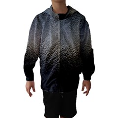 Water Drops 1 Hooded Wind Breaker (kids)