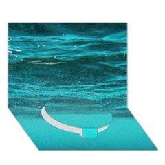 Underwater World Circle Bottom 3d Greeting Card (7x5)