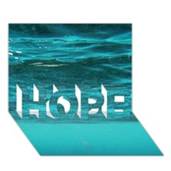 Underwater World Hope 3d Greeting Card (7x5)