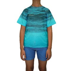 UNDERWATER WORLD Kid s Short Sleeve Swimwear
