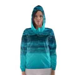 Underwater World Hooded Wind Breaker (women)