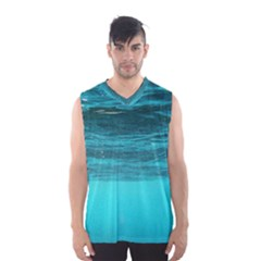 Underwater World Men s Basketball Tank Top