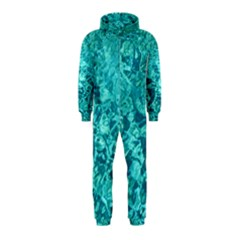 TURQUOISE WATER Hooded Jumpsuit (Kids)