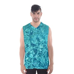 TURQUOISE WATER Men s Basketball Tank Top