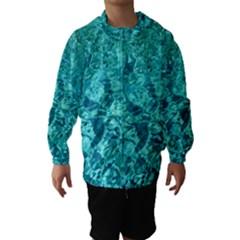 Turquoise Water Hooded Wind Breaker (kids)