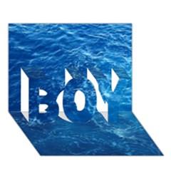 PACIFIC OCEAN BOY 3D Greeting Card (7x5)