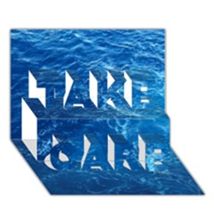 PACIFIC OCEAN TAKE CARE 3D Greeting Card (7x5)