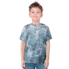 Ocean Waves Kid s Cotton Tee