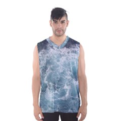 Ocean Waves Men s Basketball Tank Top