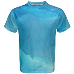 LIGHT TURQUOISE ICE Men s Cotton Tees