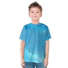Light Turquoise Ice Kid s Cotton Tee
