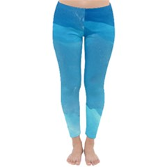 LIGHT TURQUOISE ICE Winter Leggings