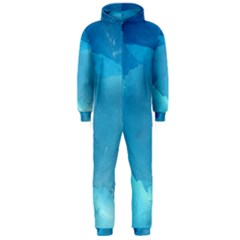 Light Turquoise Ice Hooded Jumpsuit (men)