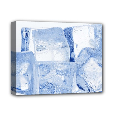 ICE CUBES Deluxe Canvas 14  x 11