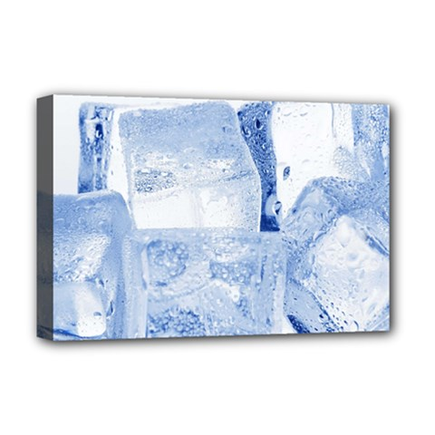 ICE CUBES Deluxe Canvas 18  x 12