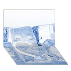 ICE CUBES Heart Bottom 3D Greeting Card (7x5)