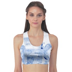 Ice Cubes Sports Bra