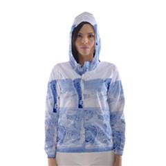 ICE CUBES Hooded Wind Breaker (Women)