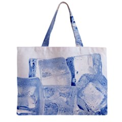 Ice Cubes Zipper Tiny Tote Bags