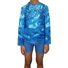 Light On Water Kid s Long Sleeve Swimwear