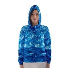 Light On Water Hooded Wind Breaker (women)