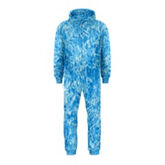 BLUE ICE CRYSTALS Hooded Jumpsuit (Kids)