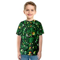 Greensociety6 Allover Print Shirts Template Guide Kid s Sport Mesh Tees