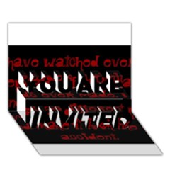 I ve Watched Enough Criminal Minds You Are Invited 3d Greeting Card (7x5)