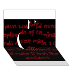 I ve Watched Enough Criminal Minds Apple 3D Greeting Card (7x5)