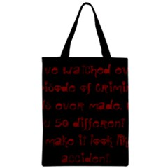 I ve Watched Enough Criminal Minds Classic Tote Bags