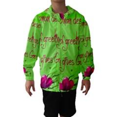 Garcia s Greetings Hooded Wind Breaker (Kids)