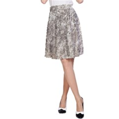 WEATHERED GREY STONE A-Line Skirt