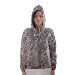 WEATHERED GREY STONE Hooded Wind Breaker (Women)
