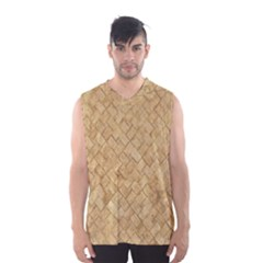TAN DIAMOND BRICK Men s Basketball Tank Top