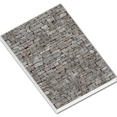STONE WALL GREY Large Memo Pads