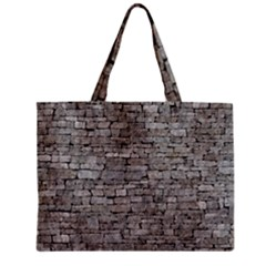 STONE WALL GREY Tiny Tote Bags