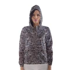 STONE WALL GREY Hooded Wind Breaker (Women)