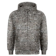 STONE WALL GREY Men s Zipper Hoodies