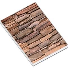 Stone Wall Brown Large Memo Pads