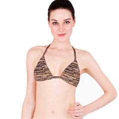 STONE WALL BROWN Bikini Tops