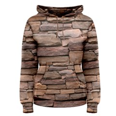 Stone Wall Brown Women s Pullover Hoodies